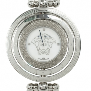 Versace Eon Stainless Steel Womens Wristwatch 25.2 MM