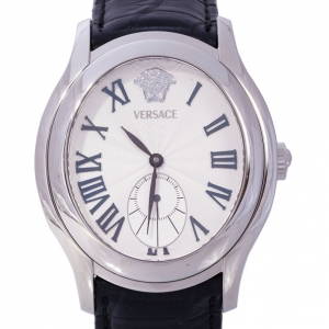 Versace White Stainless Steel OLA99 Women's Wristwatch 38MM