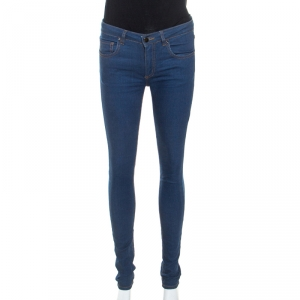 Victoria Beckham Blue Denim Slim Fit Jeans S