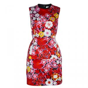Victoria Victoria Beckham Floral Printed Sleeveless Dress M