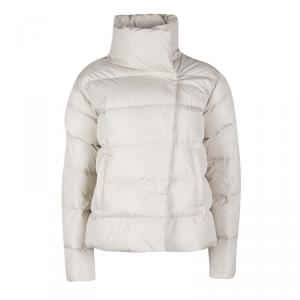 Weekend Max Mara Beige Quilted Puffer Jacket S