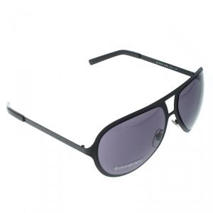 Saint Laurent Paris Matte Black/Black YSL 2311/S Aviator Sunglasses