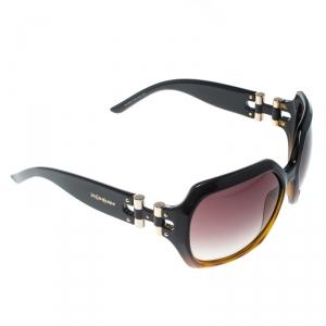 Saint Laurent Paris Tortoise/Brown Gradient YSL 6298/S Oversize Square Sunglasses