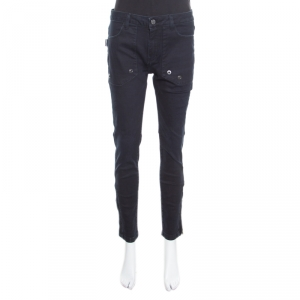 Zadig and Voltaire Indigo Washed Trim Effect Straight Fit Evron Jeans M