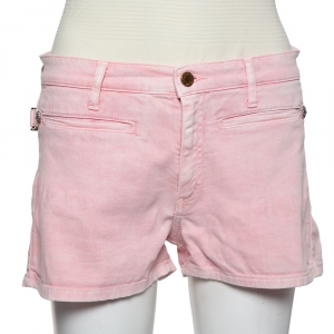 Zadig and Voltaire Pink Denim Shorts M - used