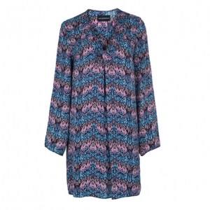 Zadig & Voltaire Printed Tunic Top S