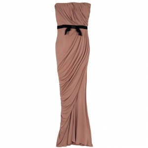 Zuhair Murad Strapless Stretch Gown S