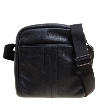 Tod s Black Leather Pillow Reporter Messenger Bag 2b25c90201fef