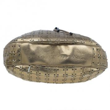 Added to Cart. Burberry Gold Leather Prorsum Studded Warrior Bag 06da17a62907a