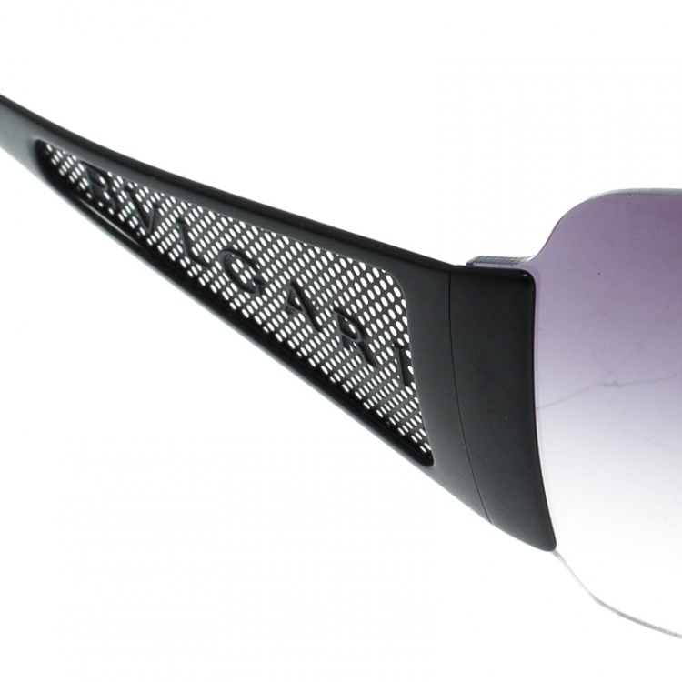 Bvlgari Black Gradient 550 Shield Sunglasses