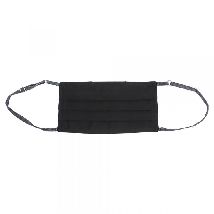 Collars & Cuffs Non-Medical Handmade Grey Herringbone Face Mask (Available for UAE Customers Only)