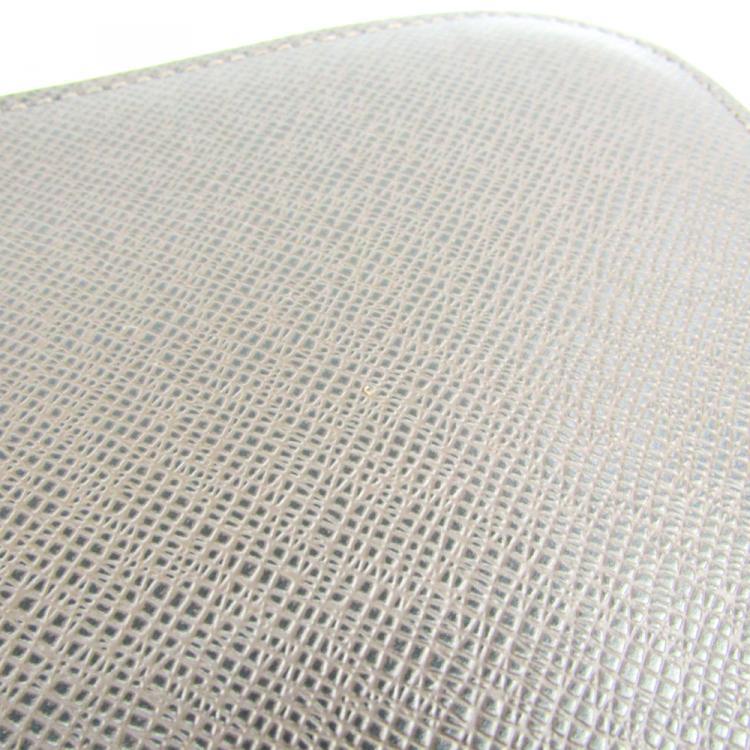 Louis Vuitton Grizzli Taiga Leather Pochette Baikal Clutch Bag