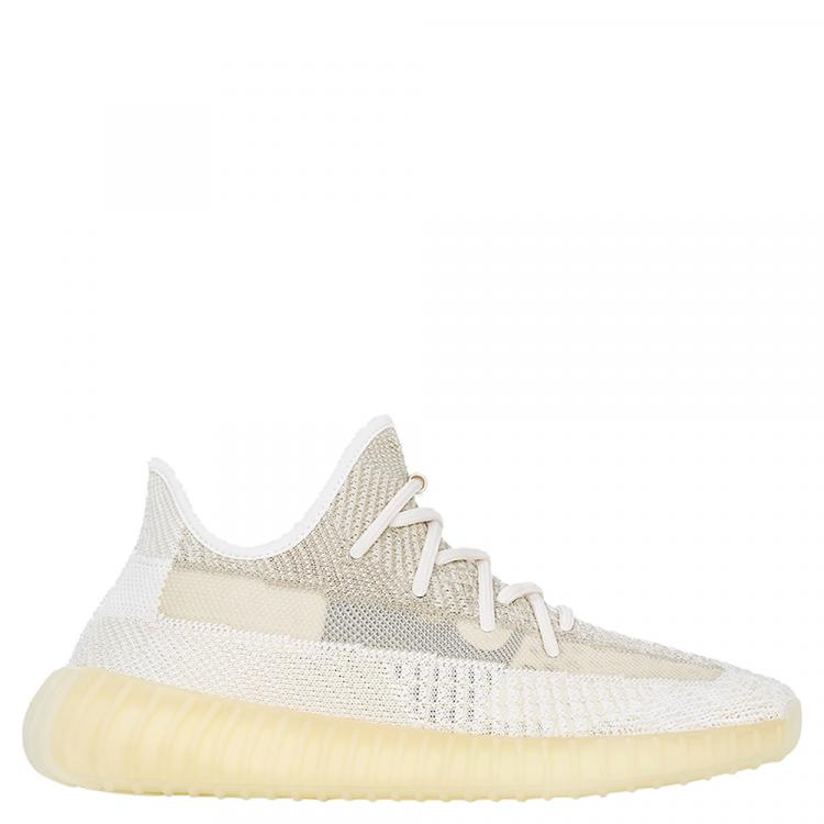 Adidas Yeezy 350 Natural Sneakers (US