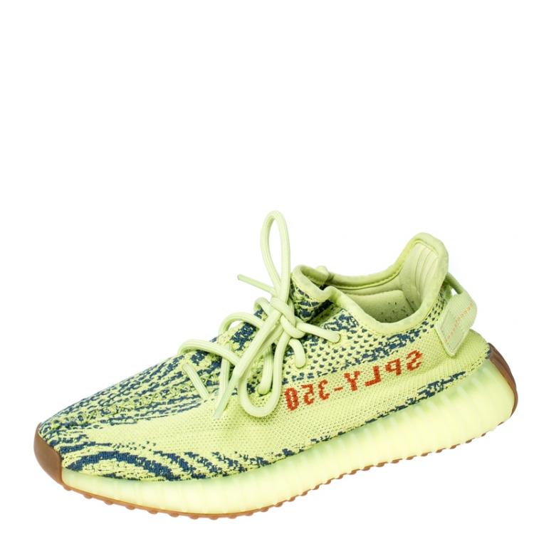 Yeezy x Adidas Green/Blue Cotton Knit
