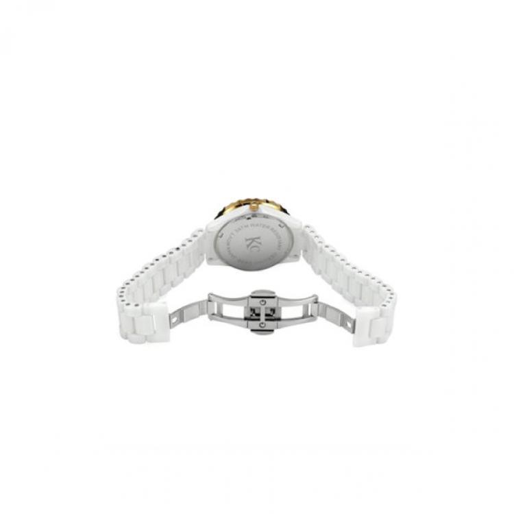 KC Diamond Gold Ceramic Ladies Wristwatch