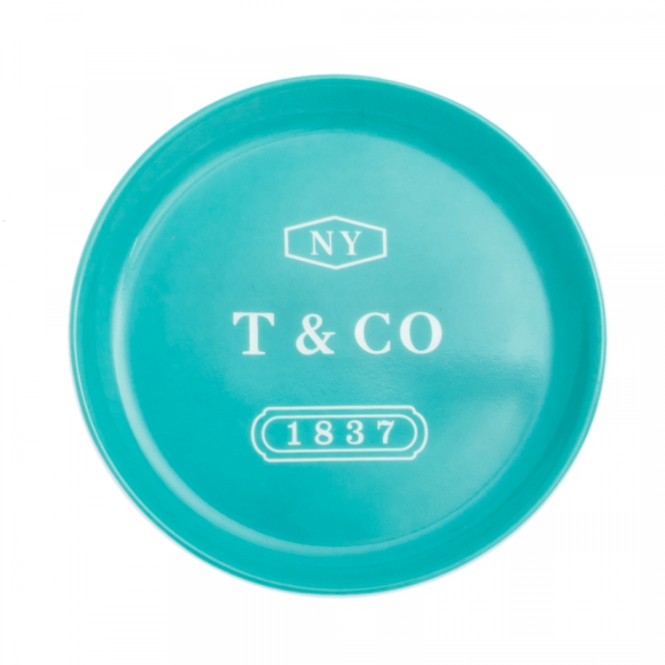 Tiffany & Co. Mint Green Porcelain Mini Ashtray