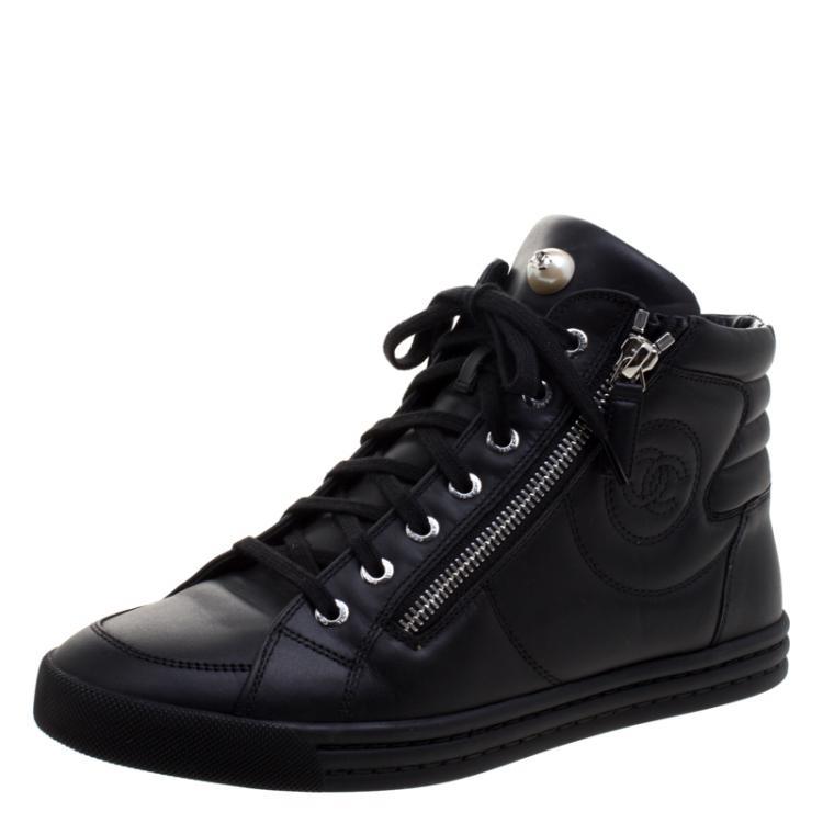 zip high top sneakers womens