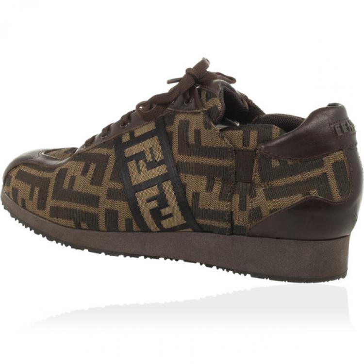 fendi zucca sneakers