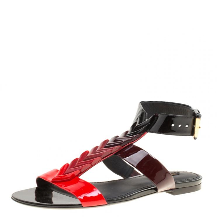 louis vuitton gladiator sandals
