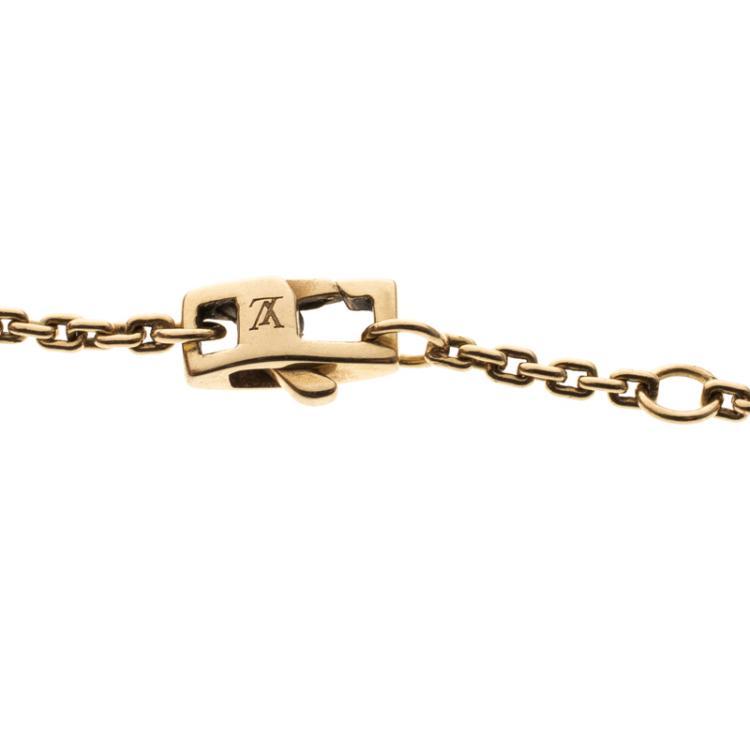 Louis Vuitton Idylle Blossom Three Tone 18k Gold Bracelet