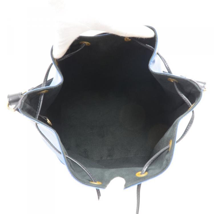 Louis Vuitton Two Tone Epi Leather Petit Noe Bag