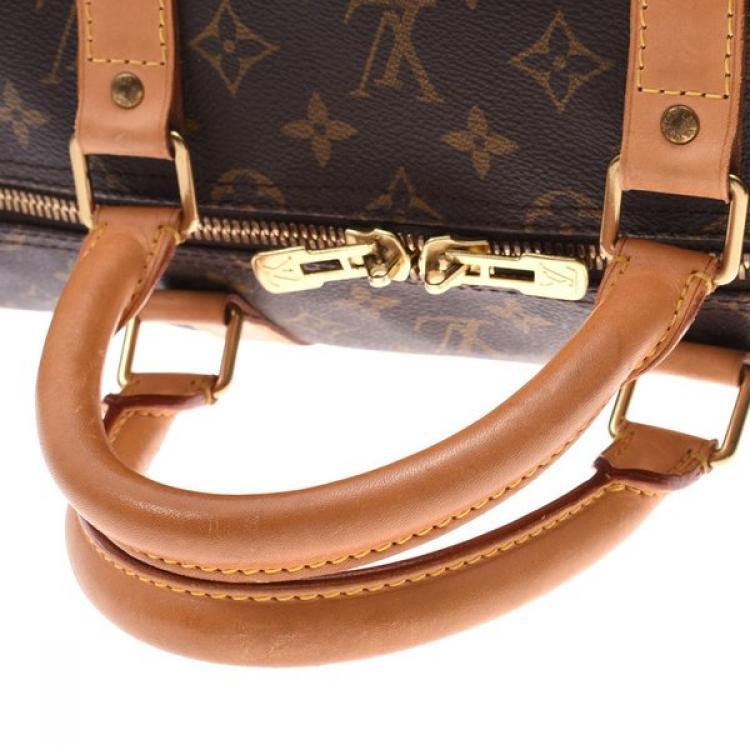 Louis Vuitton Monogram Canvas Keepall Bandoulière 55 Bag