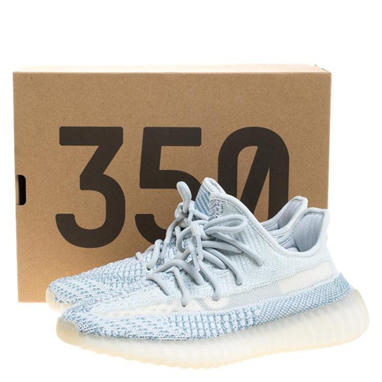 Yeezy x Adidas Blue/White Cotton Knit