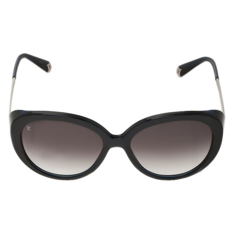 Louis Vuitton Black Oversized Cat Eye Sunglasses