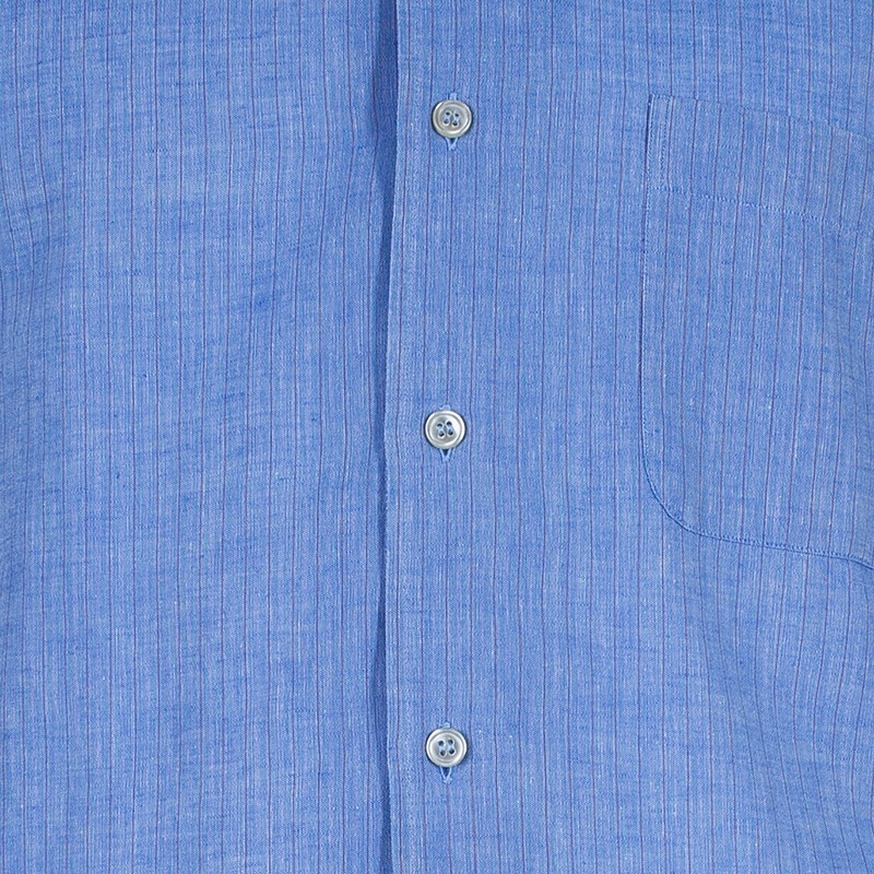 Z Zegna Mens Blue Shirt XL