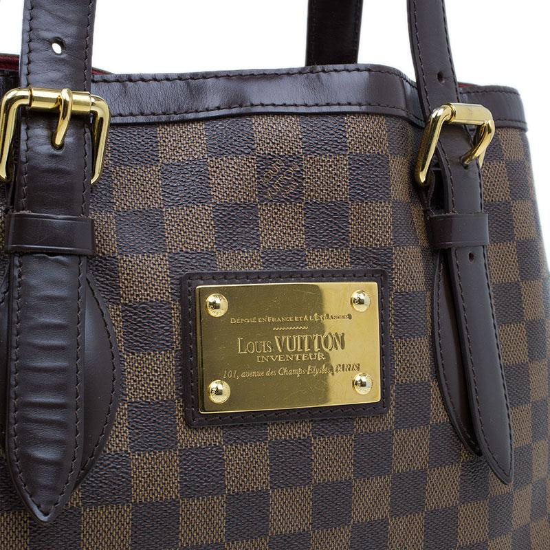 Louis Vuitton Damier Ebene Hampstead MM