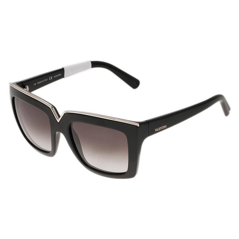 Valentino Tortoise 674S Square Sunglasses