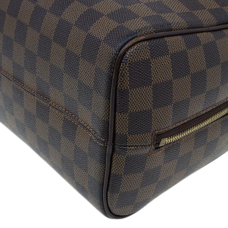 Louis Vuitton Damier Ebene Nolita Satchel Bag