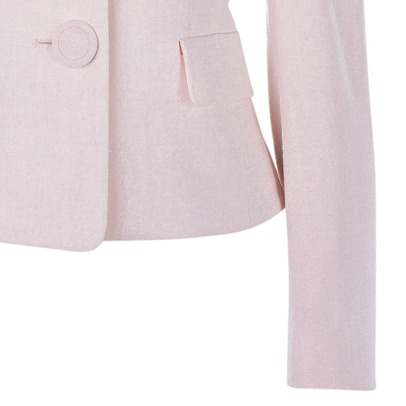 RED Valentino Light Pink Short Jacket S