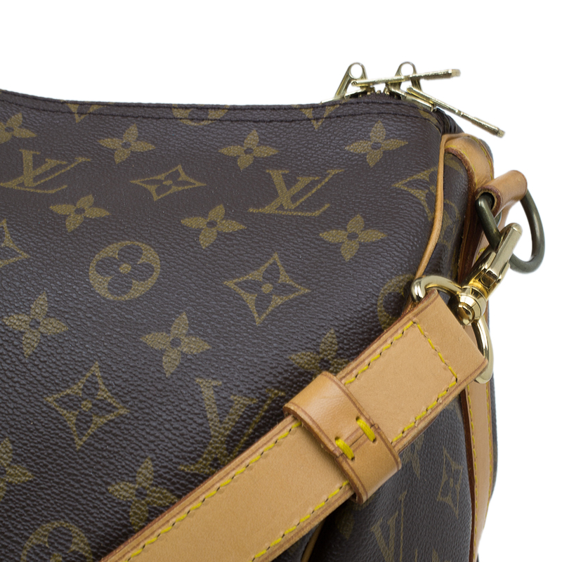 Louis Vuitton Monogram Canvas Keepall 55 With Shoulder Strap
