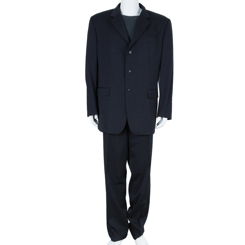 Gianfranco Ferre Mens Grey Suit XXL