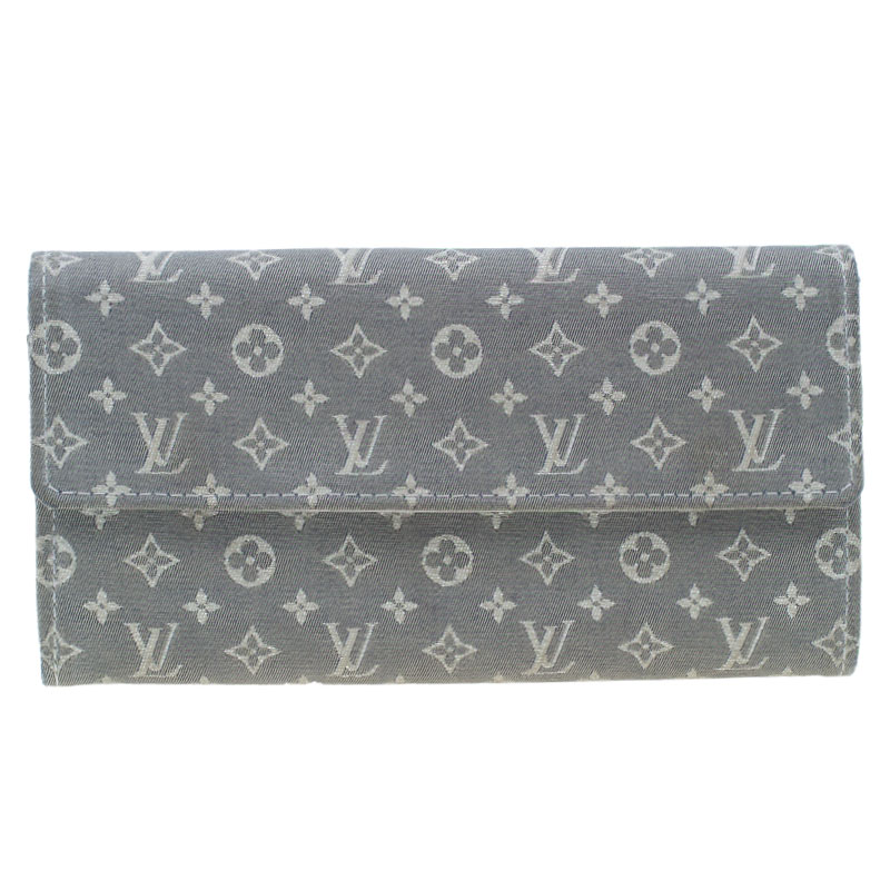 Louis Vuitton Grey Monogram Canvas Continental Wallet