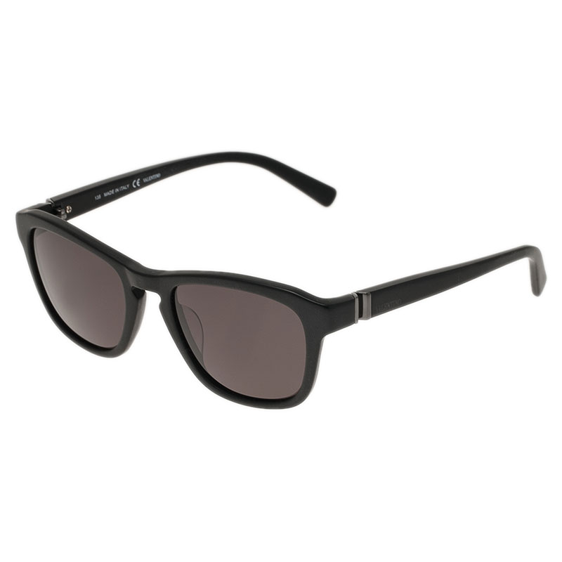 Valentino Black V630S Cat Eye Sunglasses