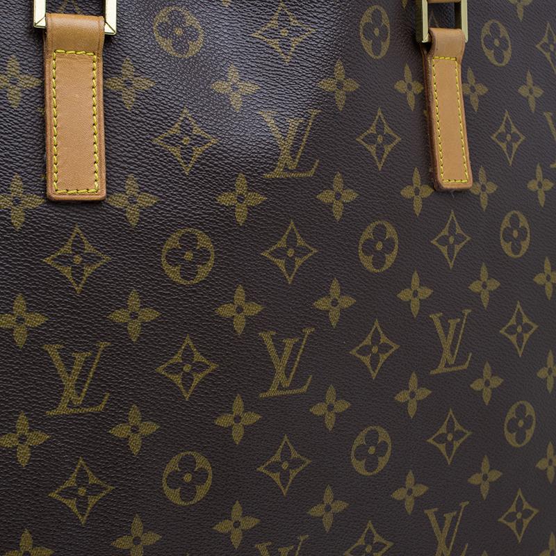 Louis Vuitton Monogram Canvas Cabas Alto Tote Bag