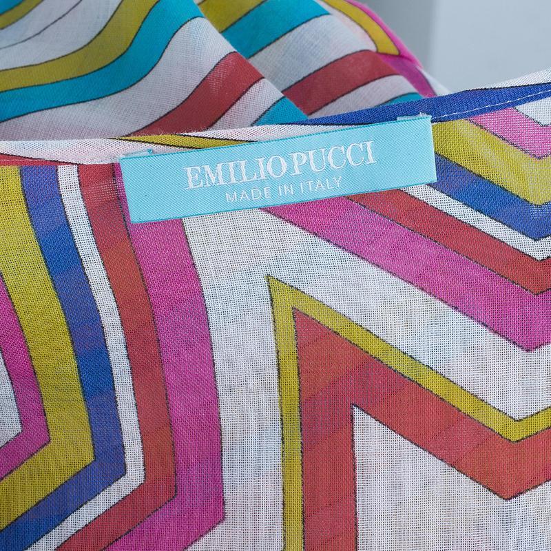 Emilio Pucci Multicolor Beach Dress S