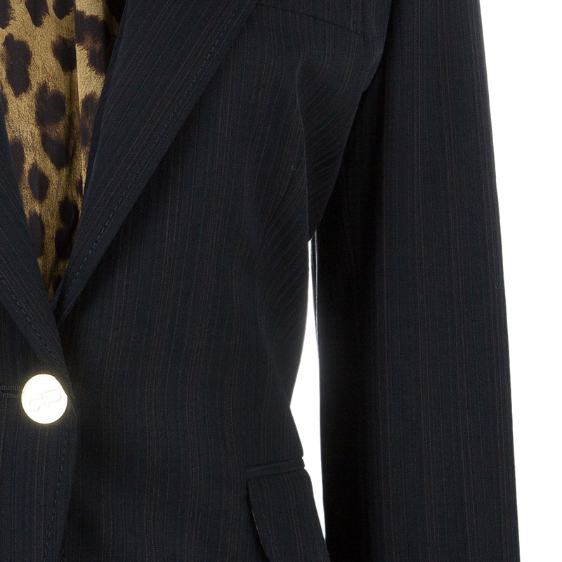 Dolce and Gabbana Striped Pant Suit M