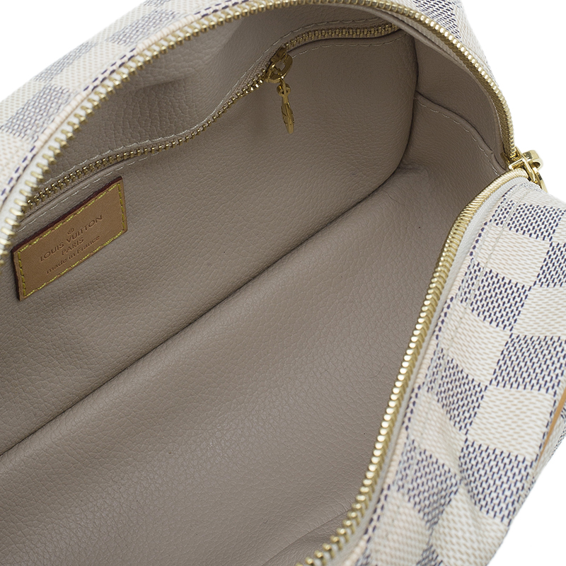 Louis Vuitton Damier Azur 25 Canvas Toiletry Kit