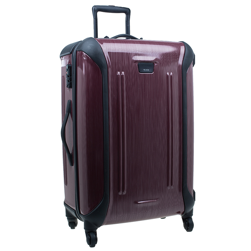 Tumi Purple Hard Shell 71 cm Vapor Rollen Trolley