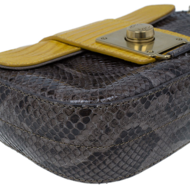 Tod's Alligator and python pouch
