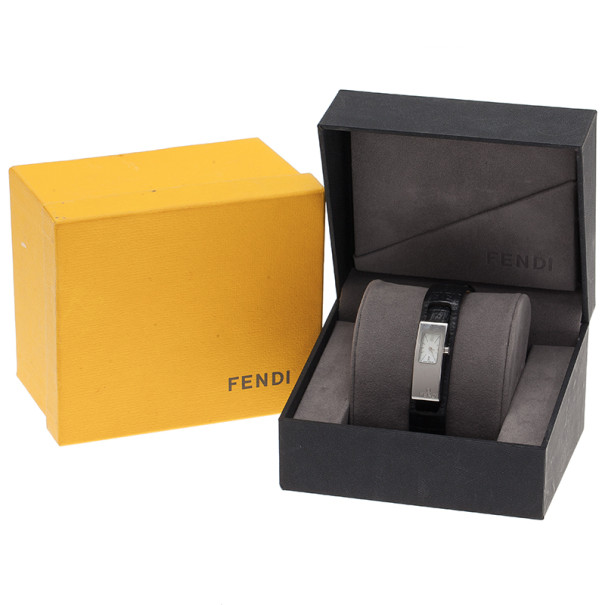 Fendi Mother of Pearl Stainless Steel 3300L Women's Wristwatch 18MM
