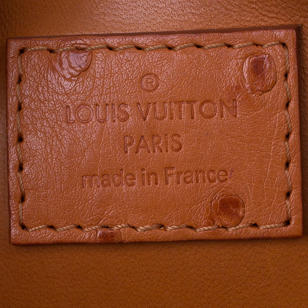 Louis Vuitton Autruche Pigment Alma BB