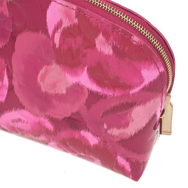 Louis Vuitton Monogram Rose Indien Vernis Ikat Cosmetic pouch
