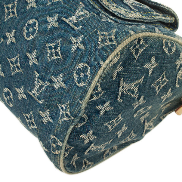 Louis Vuitton Monogram Denim Speedy