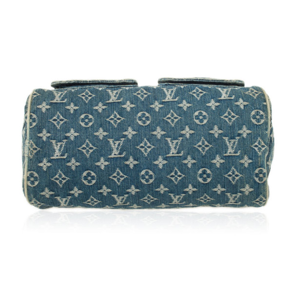 Louis Vuitton Monogram Denim Speedy