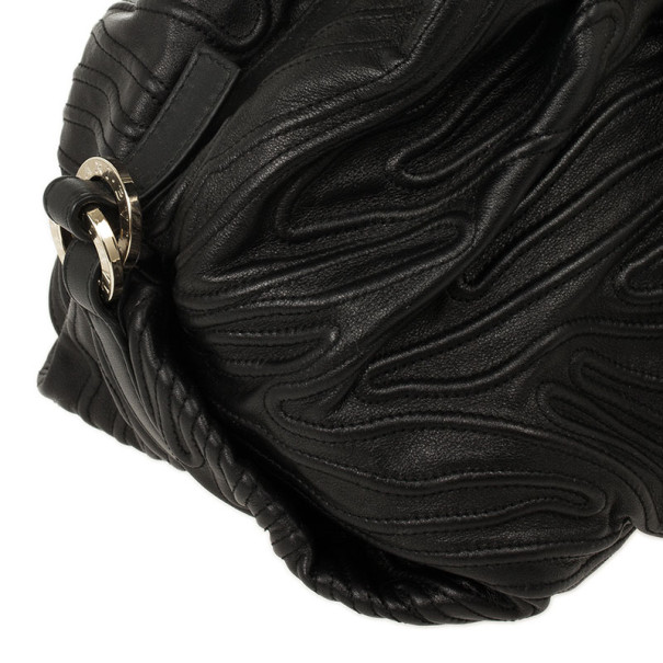 Bvlgari Black Chandra Shoulder Bag