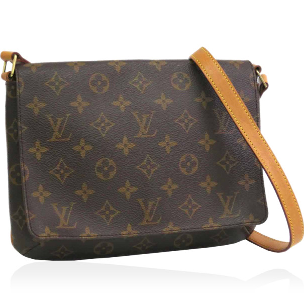 Louis Vuitton Monogram Long Strap Musette Tango